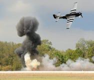 flyg- strid Royaltyfri Foto