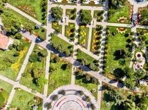 Flyg- surrsikt av Goztepe det 60th året Park som lokaliseras i Kadikoy, Istanbul Royaltyfri Foto