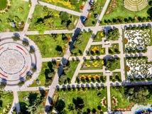 Flyg- surrsikt av Goztepe det 60th året Park som lokaliseras i Kadikoy, Istanbul Royaltyfria Bilder