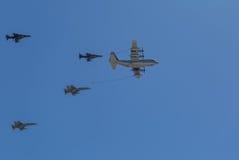 Flyg- tanka Arkivbilder