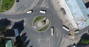 Flyg- väg Ring Traffic arkivfilmer