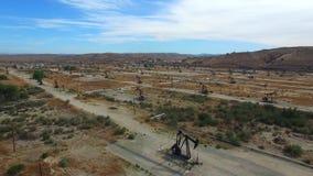 Flyg- video av San Ardo Kalifornien stock video