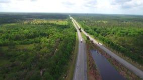 Flyg- video Florida Turnpike stock video