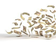 Flyga den kanadensiska dollaren Arkivfoto