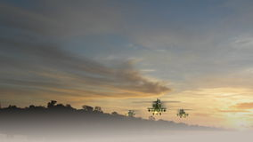 Flyga för Apache helikoptrar