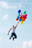 flyga för ballonger Royaltyfri Fotografi