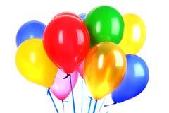 flyga för ballonger royaltyfri bild