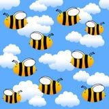 flyga för bin Arkivbild