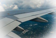flyga high Arkivbild