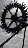 Flyga hjulet Arkivbilder