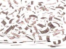 Flyga mexicanska Pesos Arkivfoto