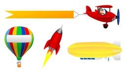 Flyga objekt Royaltyfri Fotografi