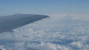 Flyga på jeten arkivfilmer
