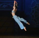 """Flyga som för balett""""One tusen och en för svalan Nights† Arkivfoto"""