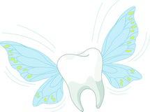 flyga toothy Arkivfoto