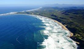 Flygbild av Brenton på havet Arkivbild