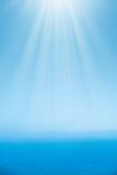 Flygbild av det lugna havet Royaltyfria Bilder