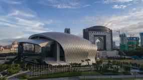 Flygbild av MITEC, Malaysia Arkivbilder