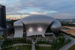 Flygbild av MITEC, Malaysia Fotografering för Bildbyråer