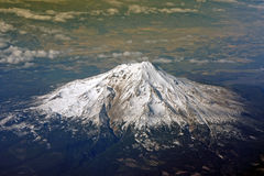 Flygbild Hawaii, USA Arkivfoton