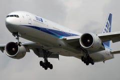 flygbolag all ana nippon Arkivbild