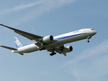 flygbolag all nippon Royaltyfria Bilder