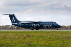 Flygbolag Astra Royaltyfri Fotografi