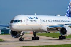 757 flygbolag förenade boeing Royaltyfri Fotografi