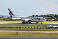 a330 flygbolag qatar Royaltyfri Foto