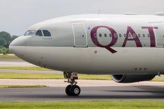 flygbolag qatar för flygbuss a330 Royaltyfri Fotografi