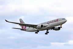 flygbolag qatar för flygbuss a330 Arkivfoton