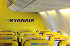 Flygbolag Ryanair Fotografering för Bildbyråer