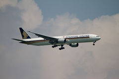 flygbolag singapore Arkivfoto