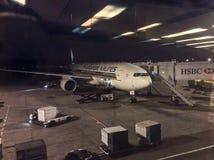 flygbolag singapore Royaltyfria Foton