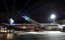 flygbolag singapore Arkivbild