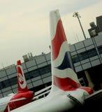 flygbolagbritish nivå Royaltyfri Bild