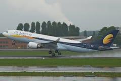 flygbolagstråle Fotografering för Bildbyråer