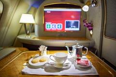 flygbuss a380 Fotografering för Bildbyråer