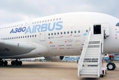 Flygbuss A380 Arkivfoton