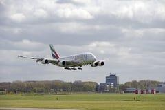 Flygbuss A380 Arkivbild
