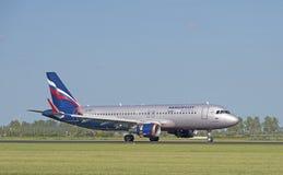 Flygbuss A320 Aeroflot VQ-BST Arkivfoto