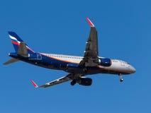 Flygbuss A320, B Petrovsky Royaltyfria Bilder