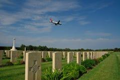 flygbuss brittiska minnes- militära sicily Royaltyfri Bild