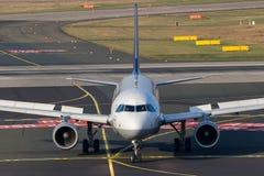 Flygbuss A320 Lufthansa Royaltyfri Fotografi
