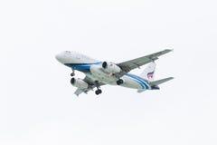 Flygbuss A319 vid Bangkok Airways Arkivbild