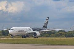 Flygbuss A350XWB Arkivfoto