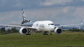 Flygbuss A350XWB Arkivfoton