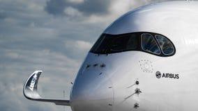 Flygbuss A350XWB Royaltyfri Bild