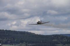 Flygdag 11 Maj, 2014 på Kjeller (airshow) Royaltyfria Foton
