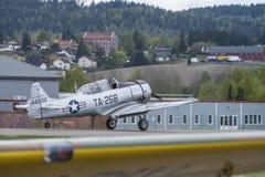 Flygdag 11 Maj, 2014 på Kjeller (airshow) Arkivfoto